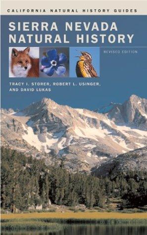 Sierra Nevada Natural History 9780520240964