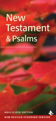 Slimline New Testament & Psalms Anglicized Edition: NRSV 9780521759731