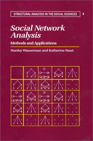 Social Network Analysis: Methods and Applications 9780521387071