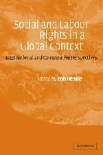 Social and Labour Rights in a Global Context: International and Comparative Perspectives 9780521818810