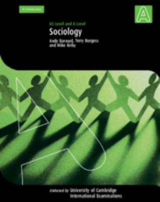 Sociology: AS Level and A Level 9780521532143