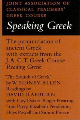 Speaking Greek Cassette 9780521239134