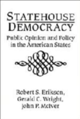 Statehouse Democracy 9780521413497