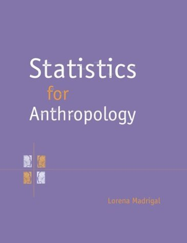 Statistics for Anthropology 9780521577861