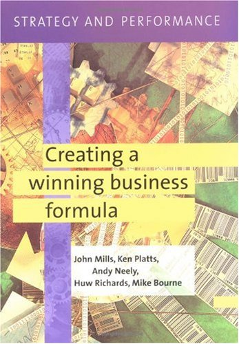 Strategy and Performance: Creating a Winning Business Formula [With CD] 9780521750295