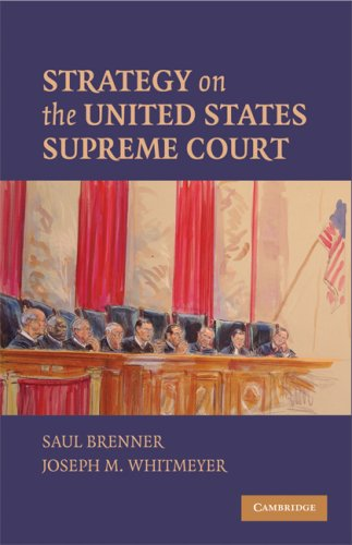 Strategy on the United States Supreme Court 9780521736343