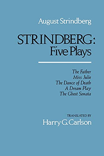 Strindberg: Five Plays 9780520046986
