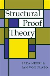 Structural Proof Theory 1723151