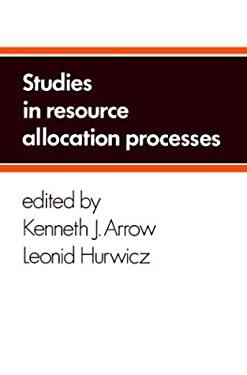 Studies in Resource Allocation Processes 9780521215220