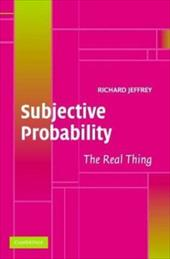 Subjective Probability: The Real Thing 1759182