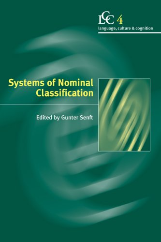 Systems of Nominal Classification