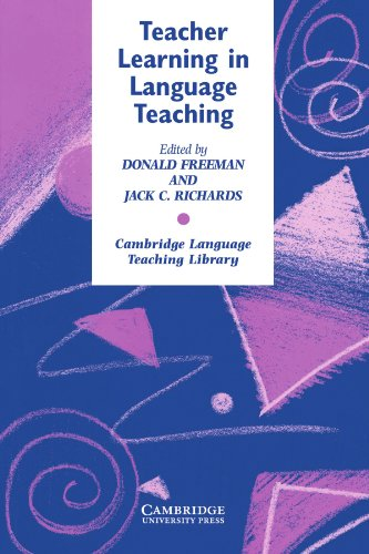 Teacher Learning in Language Teaching 9780521559072