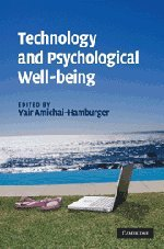 Technology and Psychological Well-Being 9780521885812