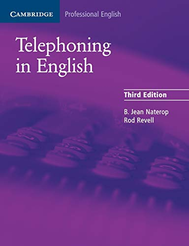 Telephoning in English 9780521539111