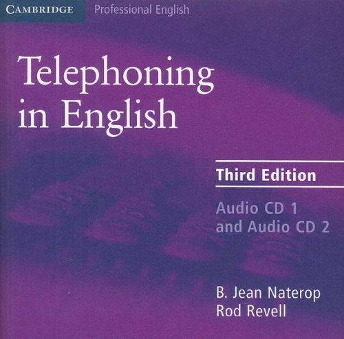 Telephoning in English 9780521539135