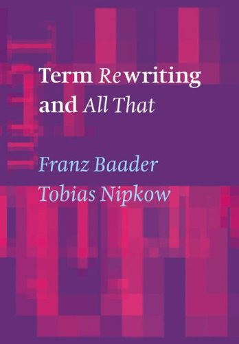 Term Rewriting and All That 9780521779203