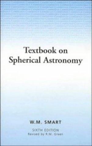 Textbook on Spherical Astronomy 9780521291804