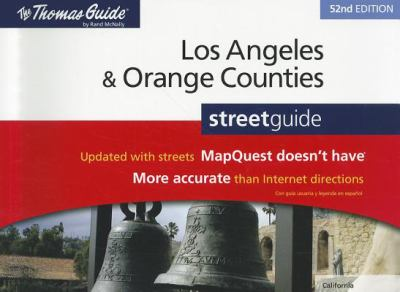 Rand McNally Los Angeles & Orange Counties Street Guide 9780528004209