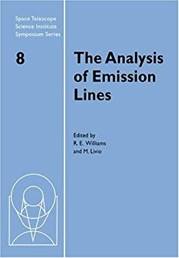 The Analysis of Emission Lines 9780521675604