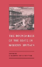 The Boundaries of the State in Modern Britain 9780521455374
