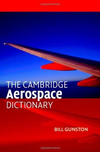 The Cambridge Aerospace Dictionary 9780521841405