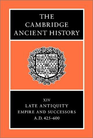 The Cambridge Ancient History 9780521325912