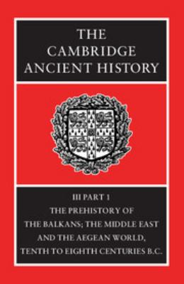 The Cambridge Ancient History 9780521224963