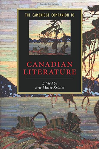 The Cambridge Companion to Canadian Literature 9780521891318