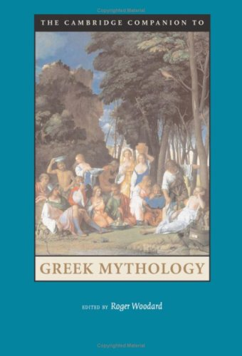 The Cambridge Companion to Greek Mythology 9780521845205