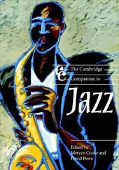 The Cambridge Companion to Jazz 1770363