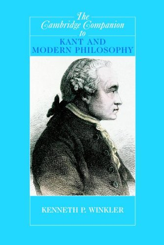 The Cambridge Companion to Kant and Modern Philosophy 9780521529952