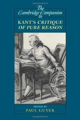 The Cambridge Companion to Kant's Critique of Pure Reason 9780521710114