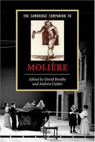 The Cambridge Companion to Moliere 9780521546652