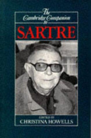 The Cambridge Companion to Sartre 9780521388122