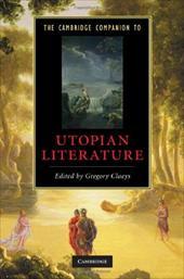 The Cambridge Companion to Utopian Literature 1785306