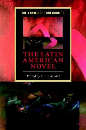 The Cambridge Companion to the Latin American Novel 9780521532198