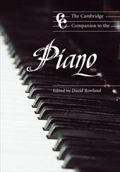 The Cambridge Companion to the Piano 1755800