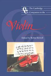The Cambridge Companion to the Violin 1747366