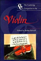 The Cambridge Companion to the Violin 1748208