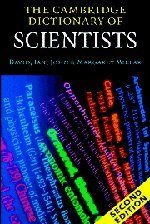The Cambridge Dictionary of Scientists 9780521000628