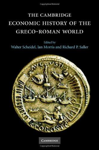 The Cambridge Economic History of the Greco-Roman World 9780521780537