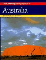 The Cambridge Encyclopedia of Australia 9780521365116