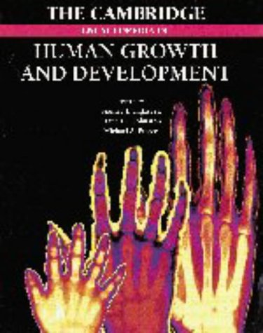The Cambridge Encyclopedia of Human Growth and Development 9780521560467