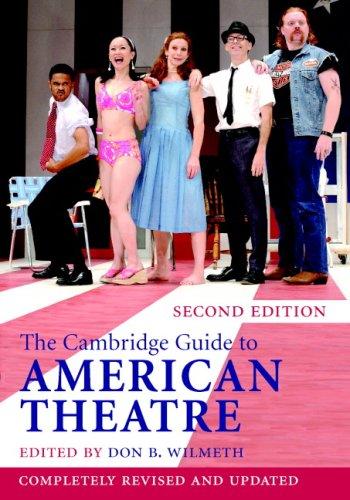 The Cambridge Guide to American Theatre 9780521835381