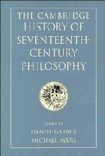 The Cambridge History of Seventeenth-Century Philosophy 2 Volume Hardback Set 9780521588645