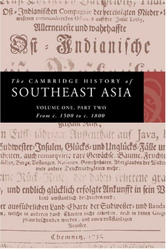 The Cambridge History of Southeast Asia 9780521663700