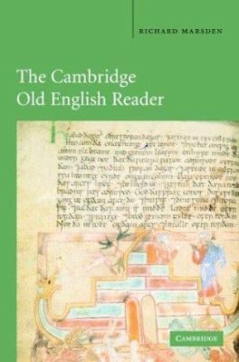 The Cambridge Old English Reader 9780521456128