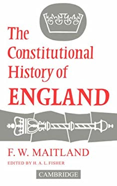 The Constitutional History of England 9780521091374