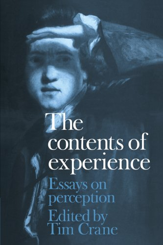 The Contents of Experience: Essays on Perception 9780521173179