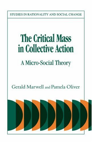 The Critical Mass in Collective Action 9780521308397
